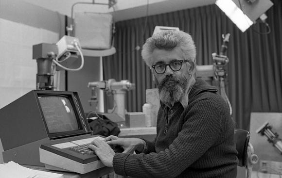 John McCarthy at Stanford (1974)