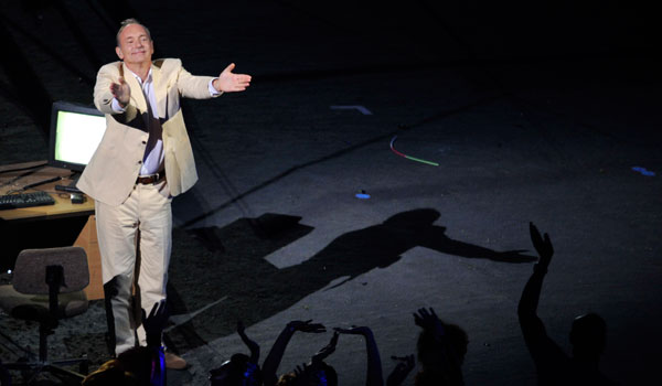 Tim Berners-Lee at London 2012 Opening Ceremony