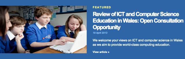 DfES ICT consultation